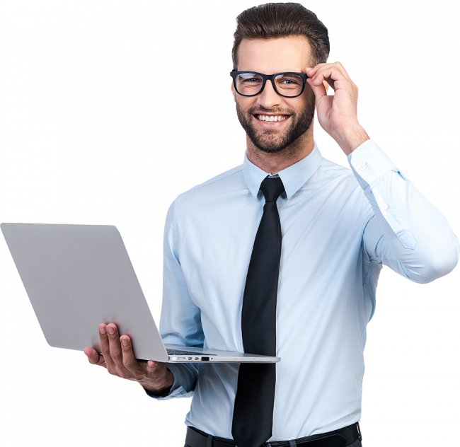 56-567275_businessman-with-laptop-png
